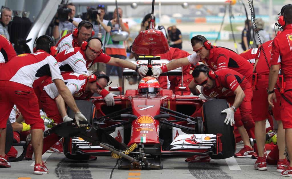 Формула-1 - гонка для настоящих профессионалов