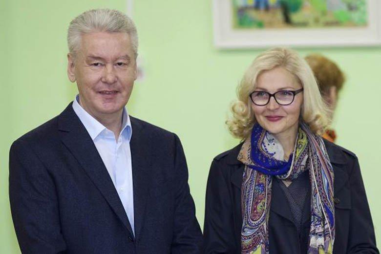 Авто мэрии Москвы и Сергея Собянина