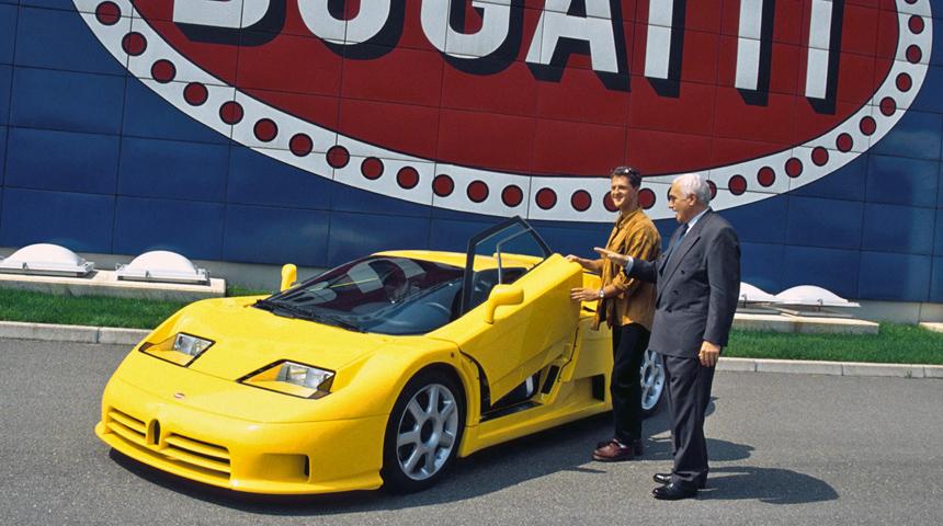 Bugatti EB110 - суперкар, который оценил Михаэль Шумахер