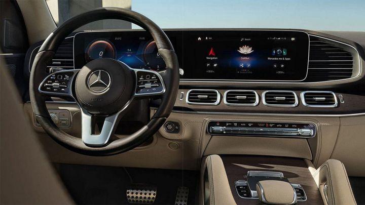 Салон роскошного Mercedes GLS