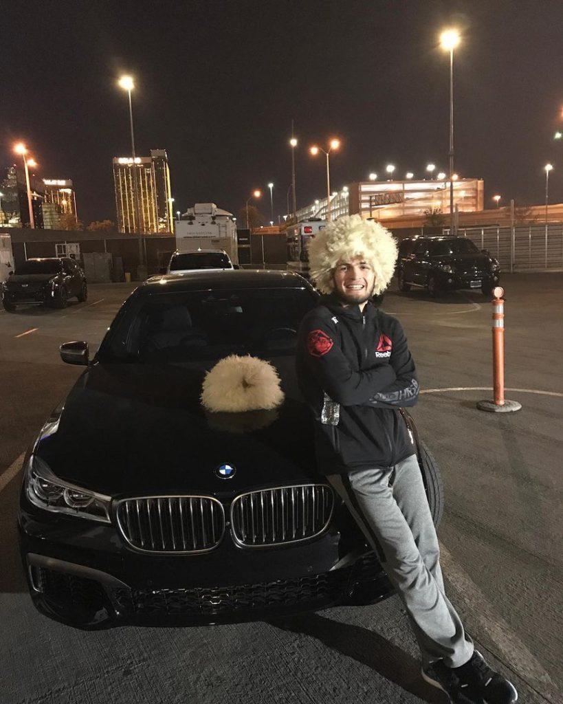 Автомобили нашего чемпиона UFC Хабиба Нурмагомедова