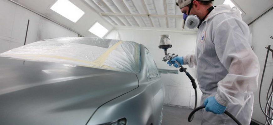 Грамотная покраска автомобиля - какой она должна быть