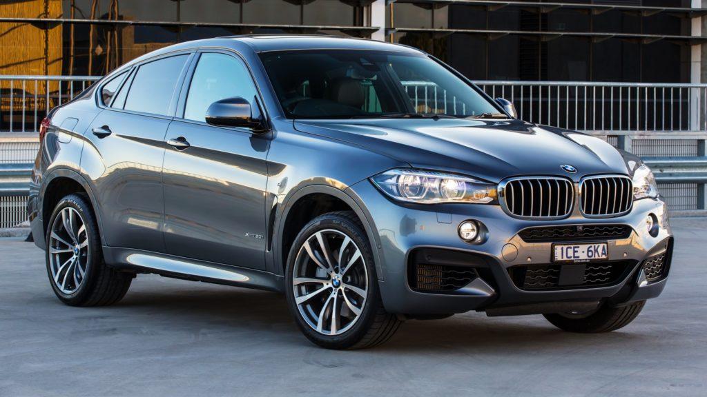 BMW X6 - шикарный немец