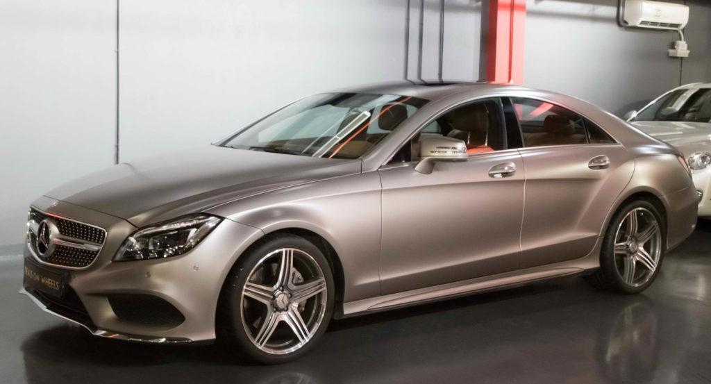 Следующим автомобилем Утяшевой стал Mercedes-Benz CLS-klasse