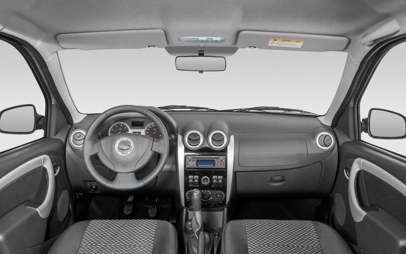 Среди опций АвтоВАЗ предлагает кондиционер и 12-вольтовую розетку