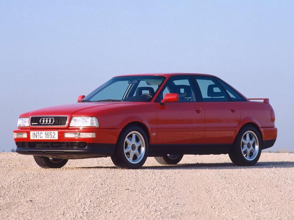 Легендарная Audi 80 Quattro Competition из 90-х