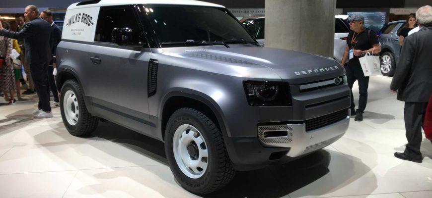 Land Rover Defender пополнится компактной и доступной версией