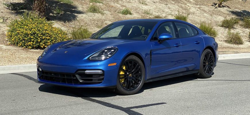 Porsche Panamera - для тех, у кого есть чувство стиля