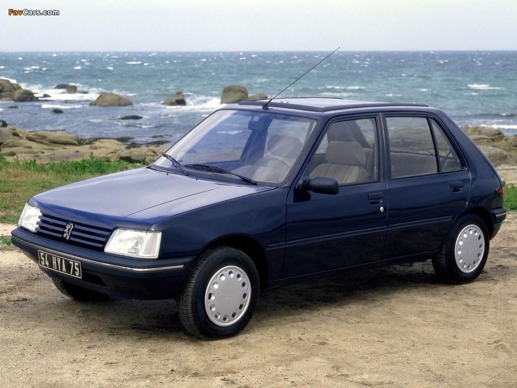 Компактный Peugeot 205