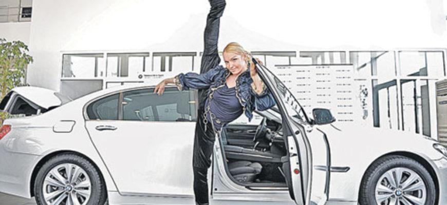 Автопарк балерины Анастасии Волочковой