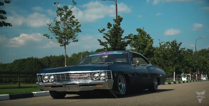 Chevrolet Impala 1967 в состоянии лучше нового