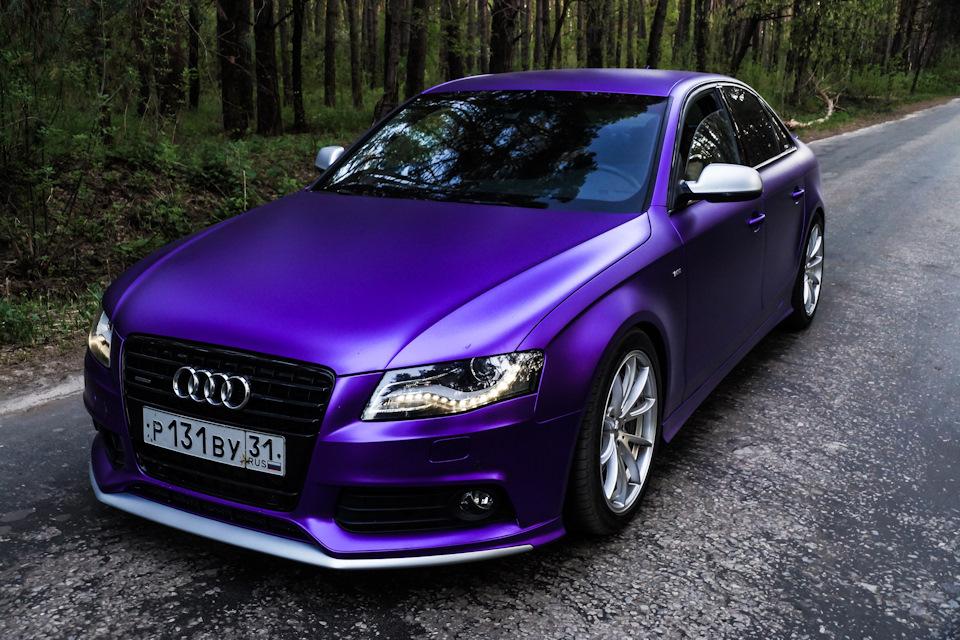 Есть владельцы, которые знают что у них уникальные цвета автомобилей