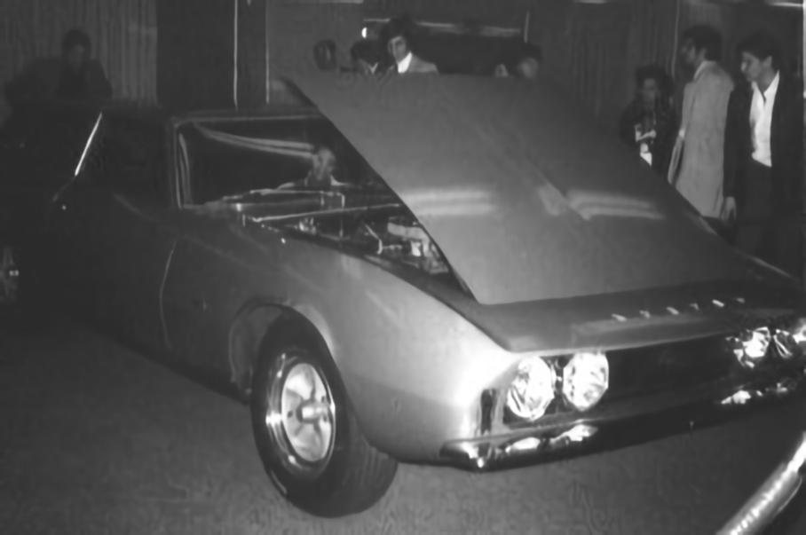 Intermeccanica Murena 429 GT на выставке