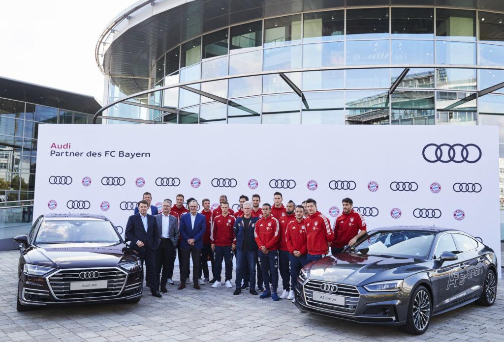 Компания Audi и футбольный клуб «Бавария» являются партнерами уже более 15 лет