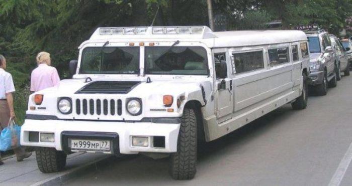 Лимузин Hummer H2 Аллы Борисовны