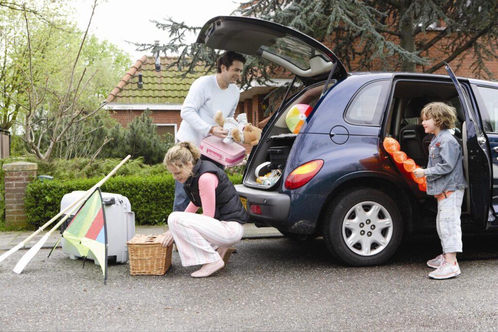 На своем авто удобнее ездить на дачу
