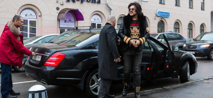 Автомобили звезды эстрады Филиппа Киркорова