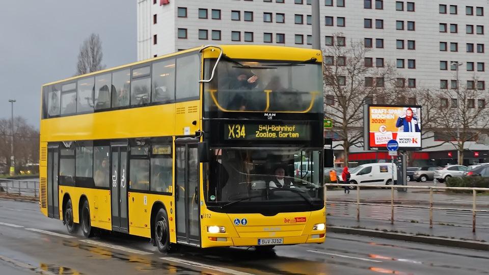Doppeldecker - двухэтажный немецкий автобус