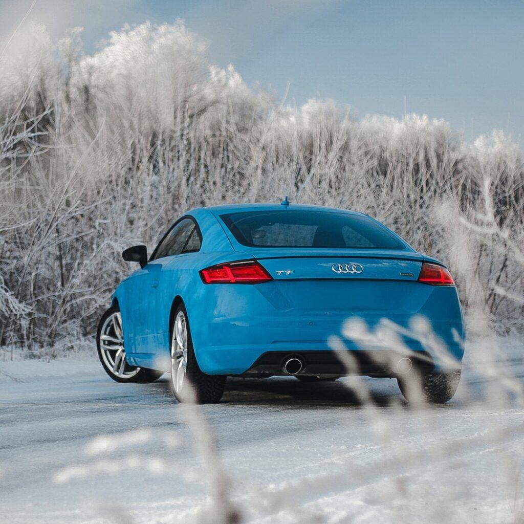 Audi и снег - идеальное сочетание не только для Quattro