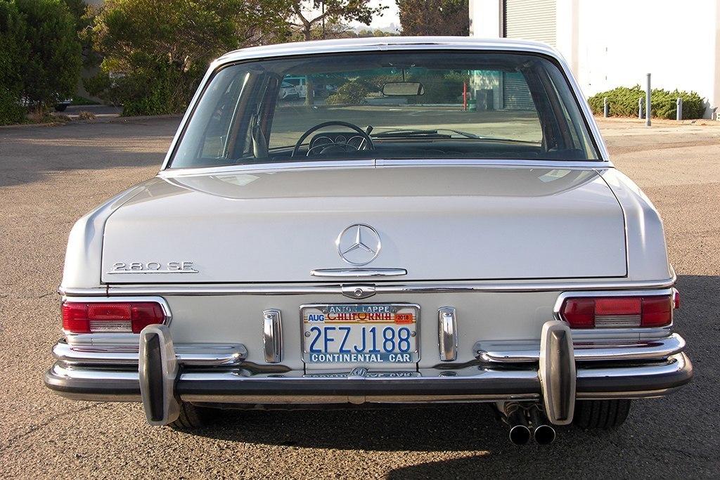 Mercedes-Benz 280SE - как айфон, только лучше