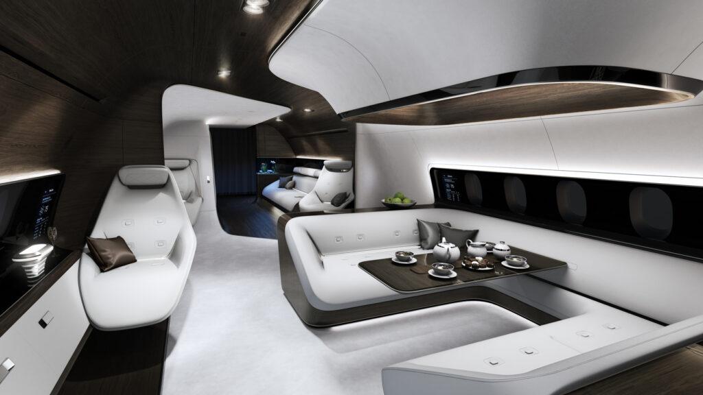 Дизайн яхты от Mercedes-Benz