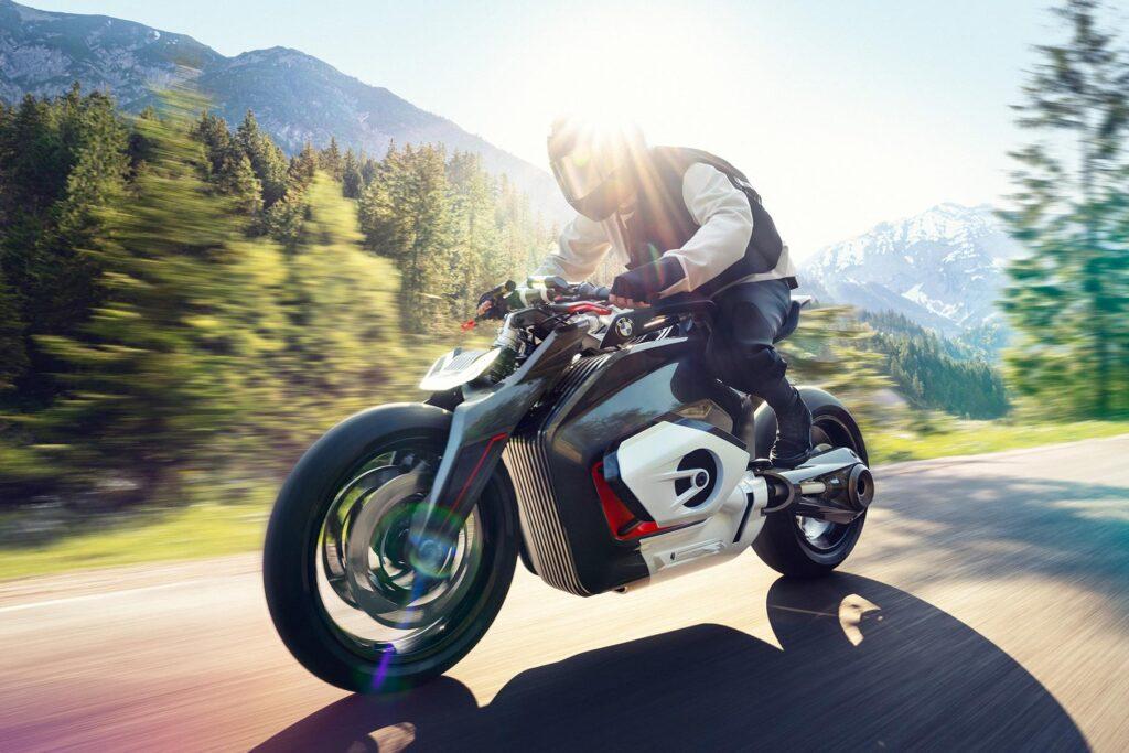 Электромотоцикл от BMW