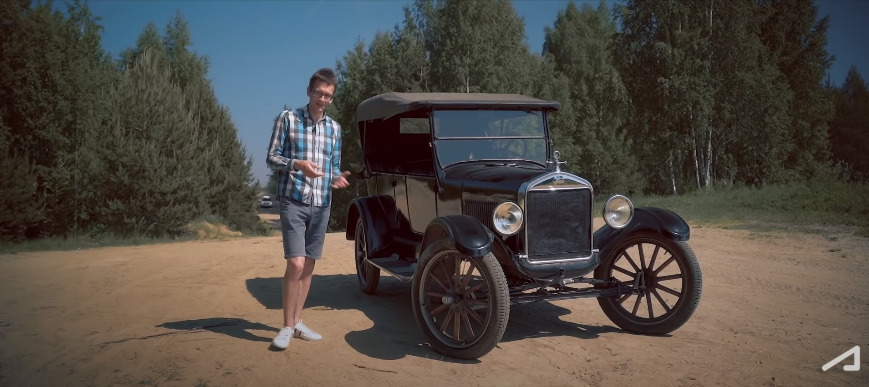 Ford T 1925 годавыпуска - не музейный, а рабочий экземпляр