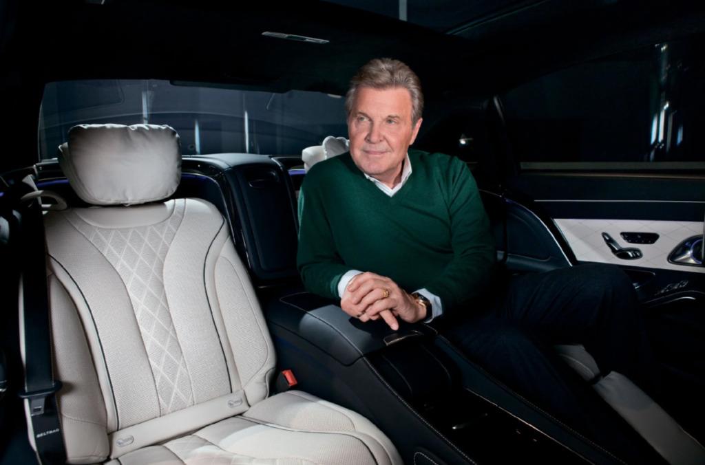 Лев Лещенко в салоне Mercedes-Benz