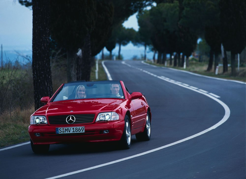Mercedes-Benz SL IV