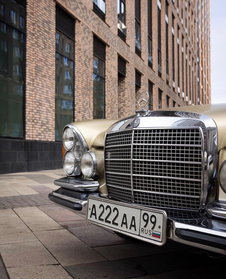 Mercedes-Benz W111 Coupe - с годами только лучше