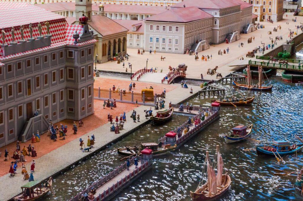 Исторический макет Петровская Акватория