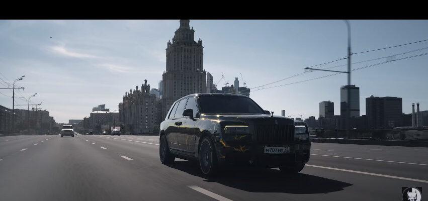 "Новый проект Давидыча - Rolls-Royce Cullinan ""Колян"""