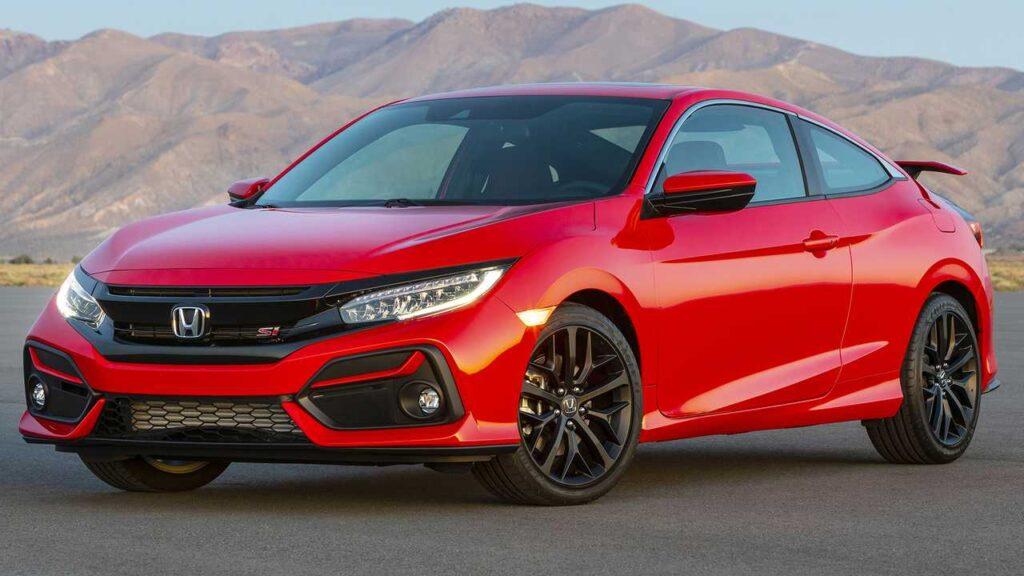 Honda Civic образца 2020 года