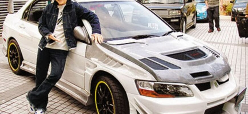Джеки Чан и лучшие автомобили Mitsubishi