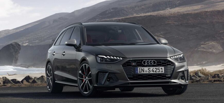 Обзор Audi A4 : быстрее, выше, сильнее