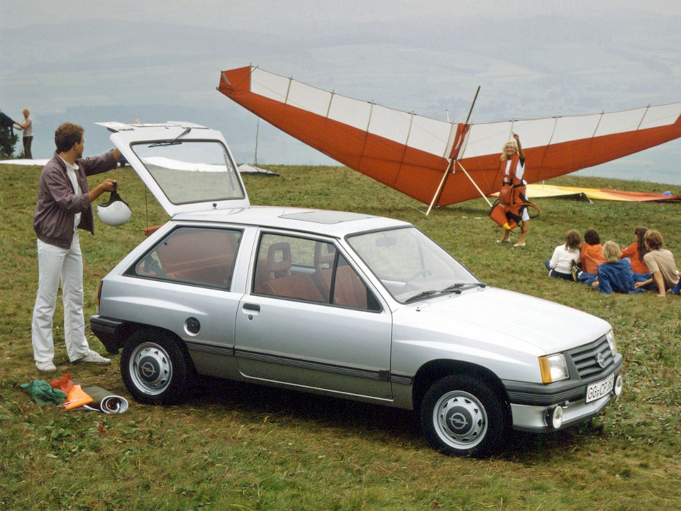 Opel Corsa первого поколения