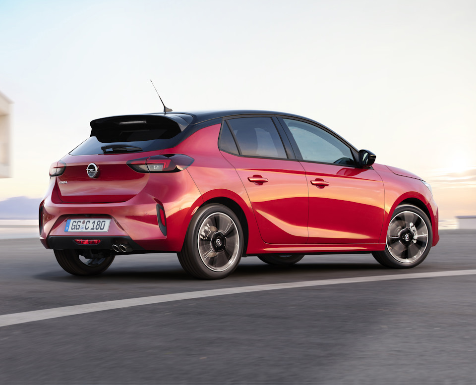 Opel Corsa F 2019 года