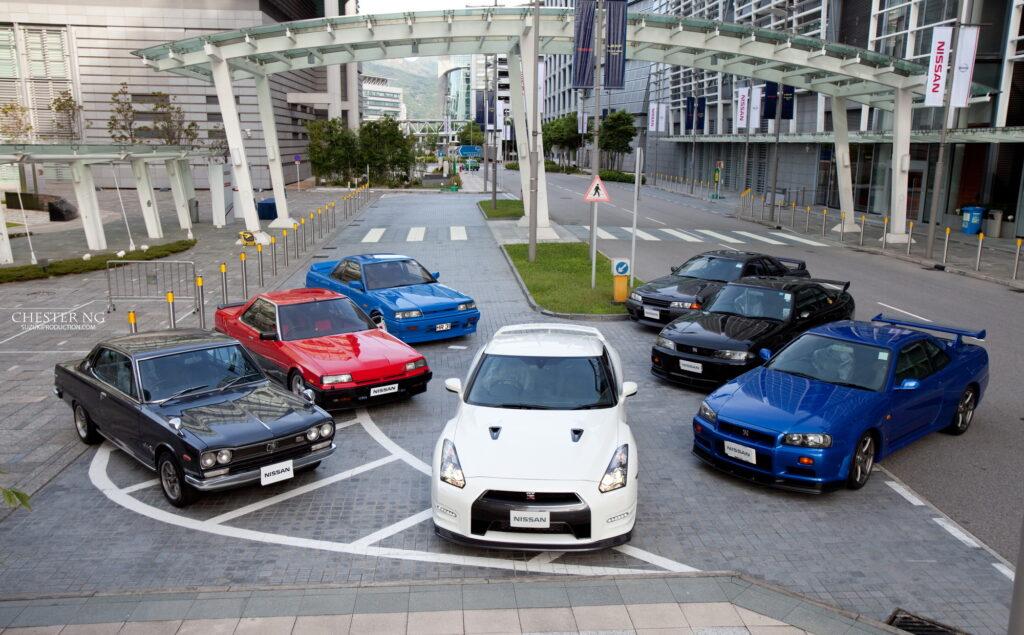 7 поколений Nissan Skyline