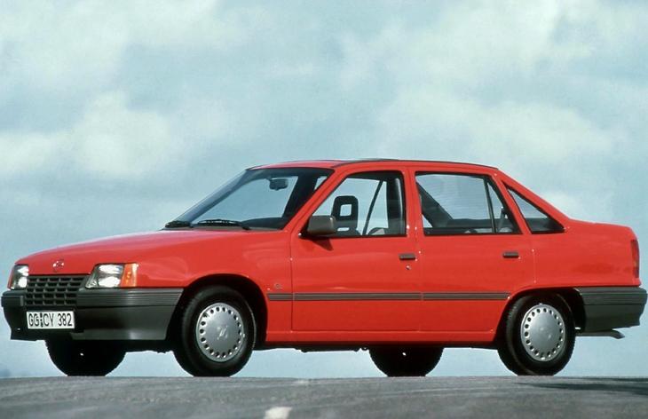 Последнее поколение Opel Cadett