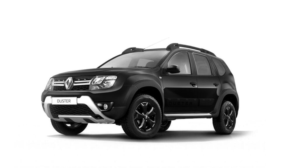 Renault Duster, вид спереди