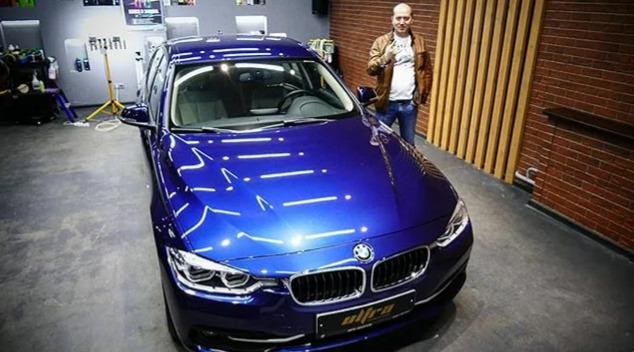 Сергей Бурунов и его BMW 320