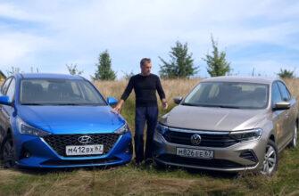 Сравнительный обзор VW Polo и Hyundai Solaris 2020