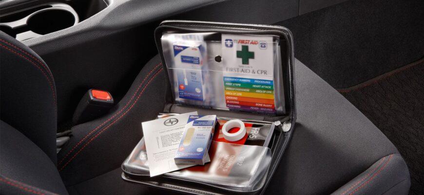 Содержимое автомобильной аптечки, какое оно должно быть?