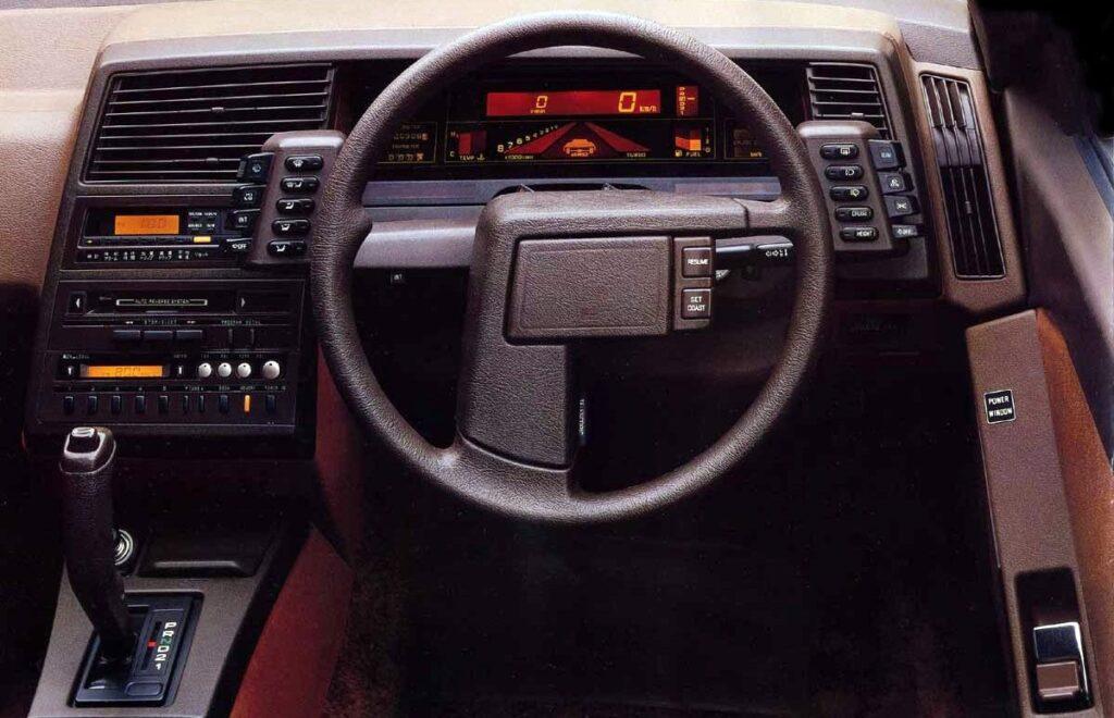 Салон Subaru XT