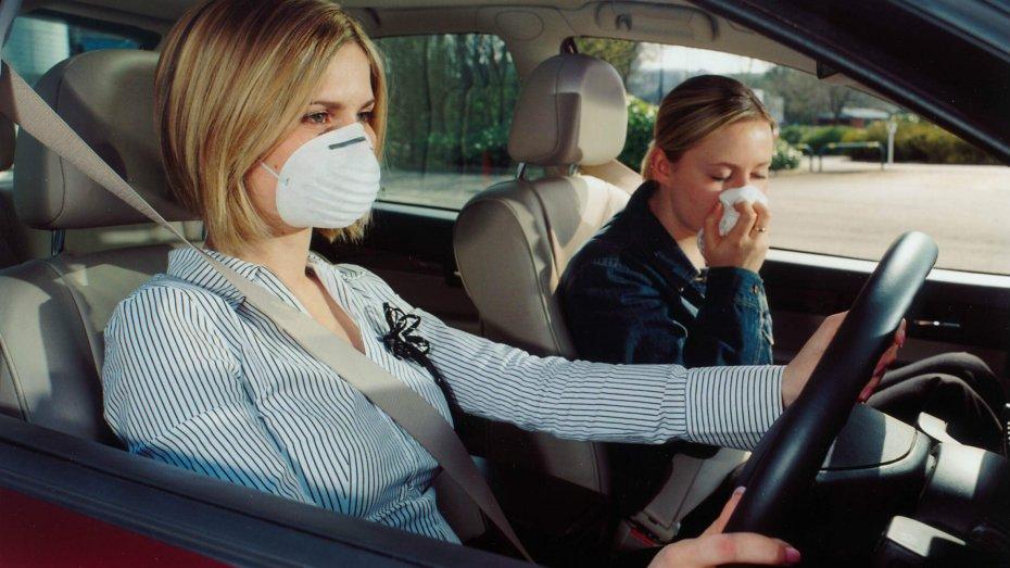 Нельзя избегать сильные запахи в авто
