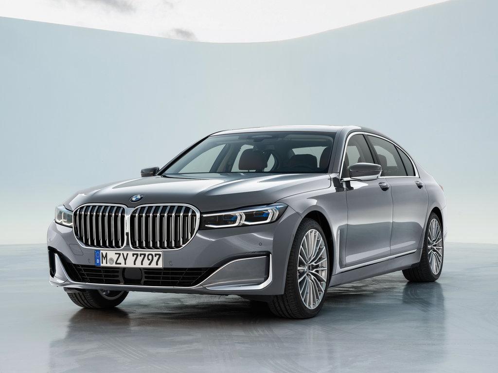 BMW 7, вид спереди