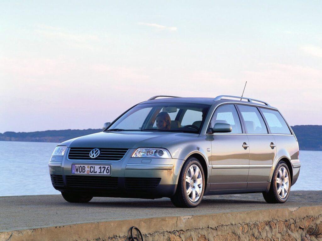 «Старый конь» VW Passat B5 Universal