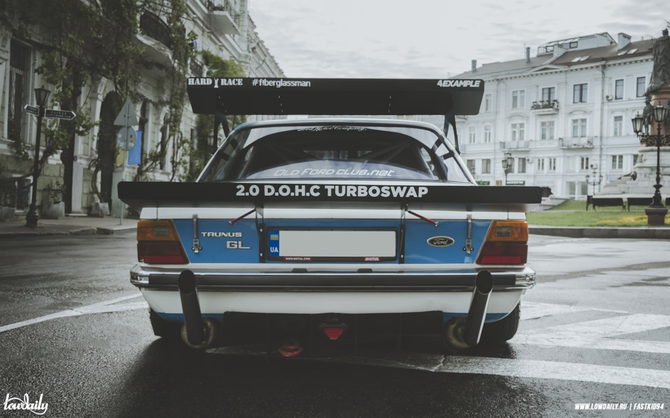 Проект на базе Ford Taunus - турбостиль