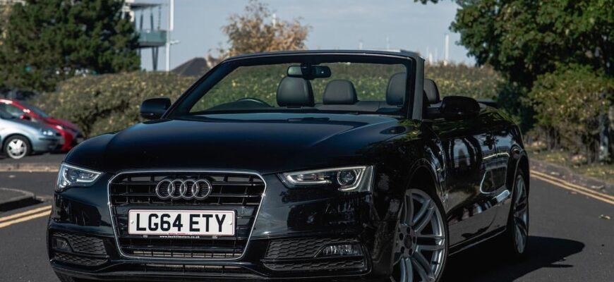 Audi A5 кабриолет - я так хочу, чтобы лето не кончалось