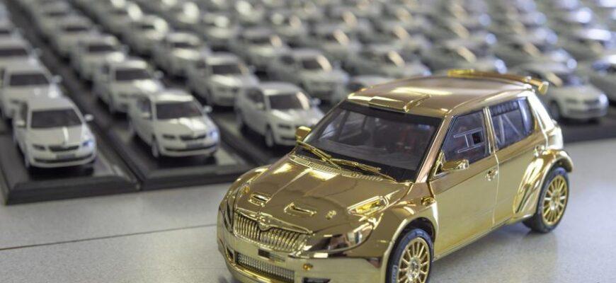 Как создают масштабные модельки реальных авто